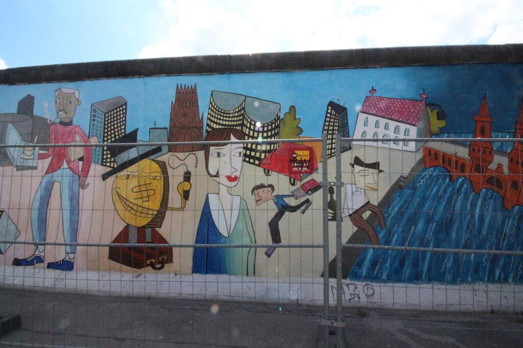 Bezienswaardigheden Berlijnse muur