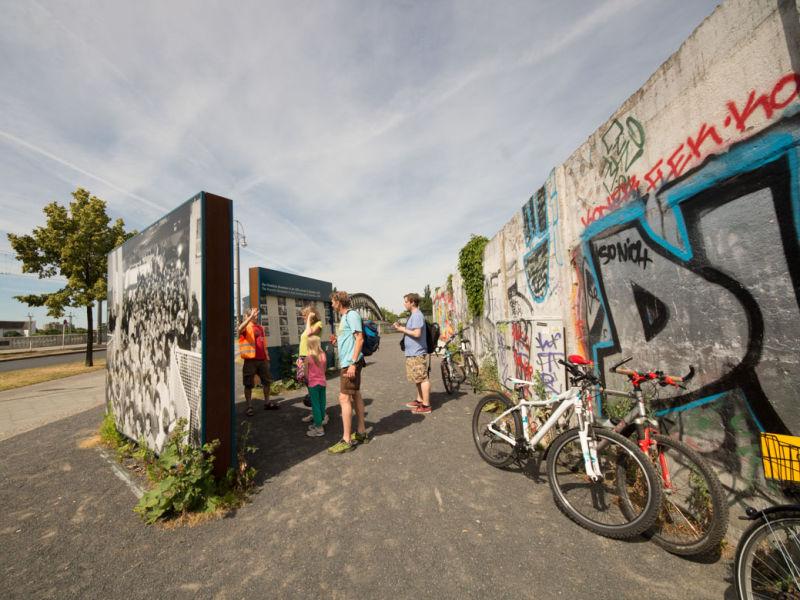 Tours langs de Berlijnse muur